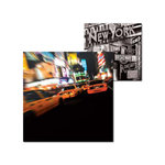 Splash of Color - New York Collection - 12 x 12 Double Sided Paper - Times Square