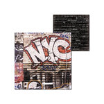 Splash of Color - New York Collection - 12 x 12 Double Sided Paper - Graffiti