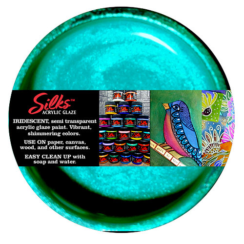 Splash of Color - Luminarte - Silks - Acrylic Glaze - Guatemalan Green