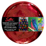 Splash of Color - Luminarte - Silks - Acrylic Glaze - Pomegranate