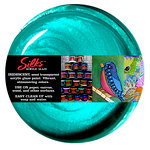 Splash of Color - Luminarte - Silks - Acrylic Glaze - Teal Zircon