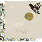Crafting Jewish Style - Passover Collection - 12 x 12 Double Sided Paper - Freedom Dove, CLEARANCE