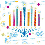 Crafting Jewish Style - Hannukah Collection - 12 x 12 Double Sided Paper - Hannukah Fun, CLEARANCE