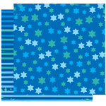 Crafting Jewish Style - Hanukkah Collection - 12 x 12 Double Sided Paper - Star Of David