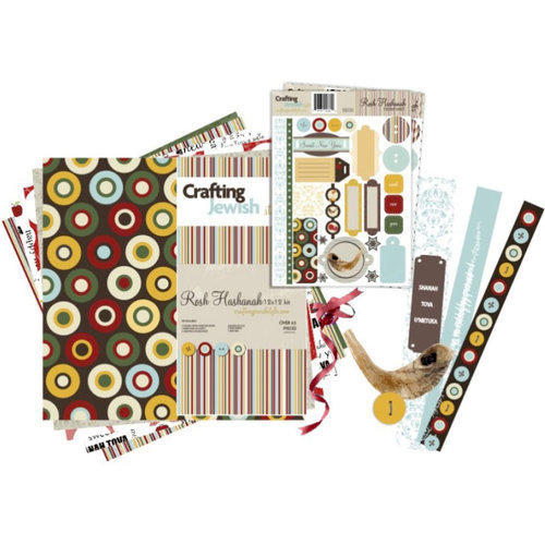 Crafting Jewish Style - Rosh Hashanah Collection - 12 x 12 Paper Kit, CLEARANCE
