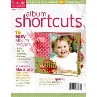 Simple Scrapbooks - Album Shortcuts, CLEARANCE