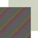 Clever Handmade - In This House Collection - 12 x 12 Double Sided Paper - Rainbow Dots