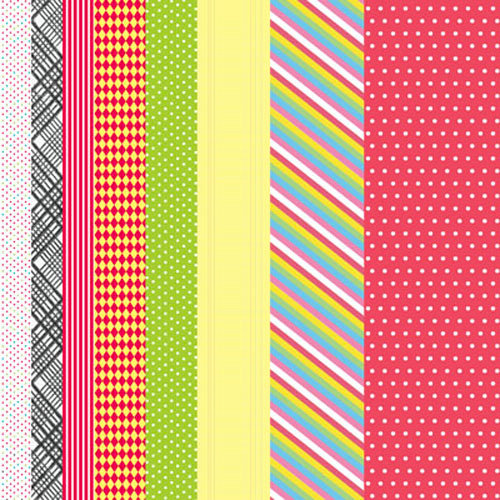 Clever Handmade - In This House Collection - Cardstock Stickers - Borders