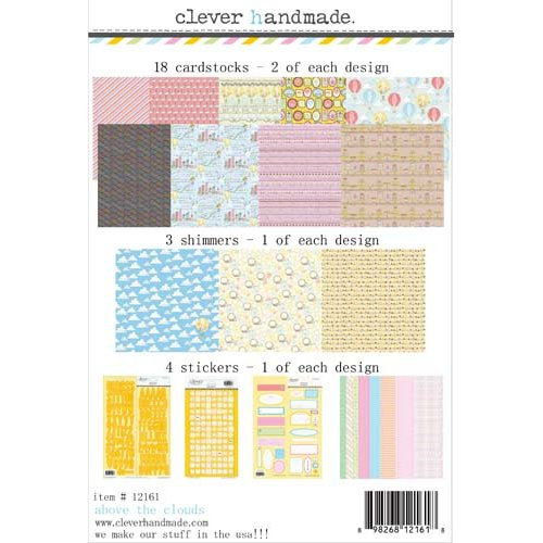 Clever Handmade - Above the Clouds Collection - 12 x 12 Collection Kit