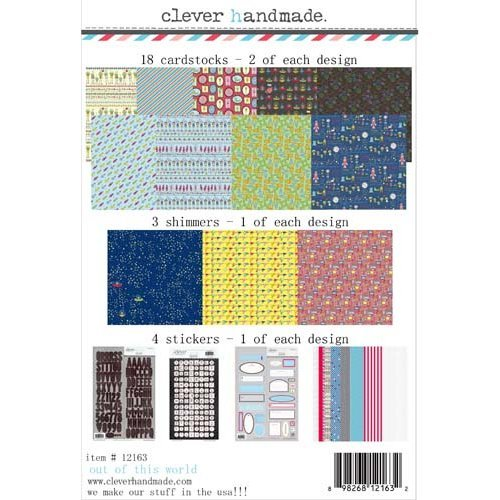 Clever Handmade - Out of This World Collection - 12 x 12 Collection Kit