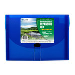 C-Line - Biodegradable Expanding File - 13-Pocket - Blue