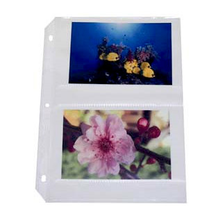 C-Line - Memory Book - Page Protectors - 4 x 6 Photo Holder - 50 Pack