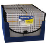 C-Line - Expanding File - 13-Pocket - Plaid Series