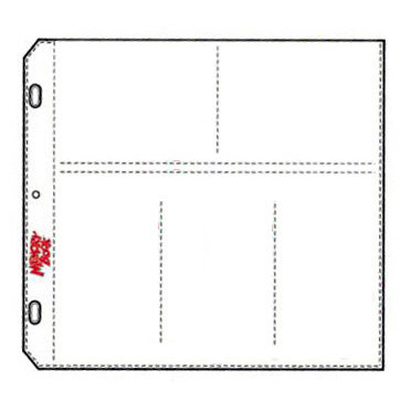 C-Line - Memory Book - Organizer Pages - 12 x 12 Clear - Jumbo Plus - 10 Pack