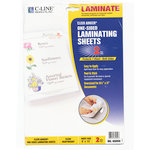 C-Line - Adheer Laminating Sheets - Heavyweight Clear - 2 Pack