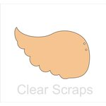 Clear Scraps - Chipboard Album - Wings
