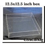 Clear Scraps - DIY Acrylic Box - Keepsake Box - Large - 12 x 12