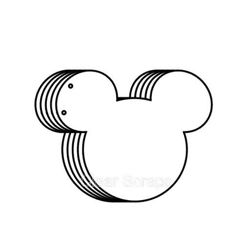Clear Scraps - Clear Acrylic Album - Mouse