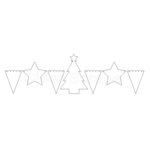 Clear Scraps - Christmas - Clear Acrylic Banner - Believe