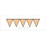 Clear Scraps - Chipboard Banner - Small Banners