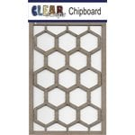 Clear Scraps - Chipboard Embellishments - Chicken Wire