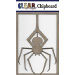 Clear Scraps - Chipboard Embellishments - Spider