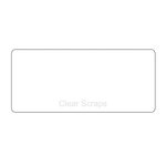 Clear Scraps - Clear Acrylic Plaque - Rectangle