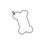Clear Scraps - Clear Album - Mini Dog Bone