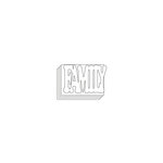 Clear Scraps - Clear Acrylic Mini Album with Cutout Word Cover - Family