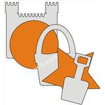 Clear Scraps - Acrylic and Chipboard Album - Mixables - Beach Fun