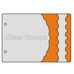 Clear Scraps - Acrylic and Chipboard Album - Mixables - Little Bits