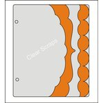 Clear Scraps - Acrylic and Chipboard Album - Mixables - Medley