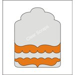 Clear Scraps - Acrylic and Chipboard Album - Mixables - Tag