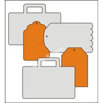 Clear Scraps - Acrylic and Chipboard Album - Mixables - Travel