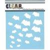 Clear Scraps - Mascils - Halloween - 12 x 12 Masking Stencil - Bats