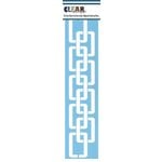 Clear Scraps - Mascils - Border Masking Stencil - Chains