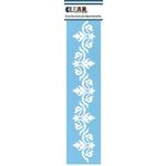 Clear Scraps - Mascils - Border Masking Stencil - Ornate Flourish