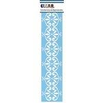 Clear Scraps - Mascils - Border Masking Stencil - Vintage Flourish