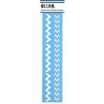 Clear Scraps - Mascils - Border Masking Stencil - Washitape Chevron
