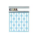 Clear Scraps - Mascils - 6 x 6 Masking Stencil - Bulb String