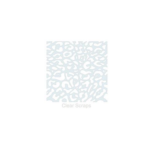 Clear Scraps - Mascils - 6 x 6 Masking Stencil - Cheetah