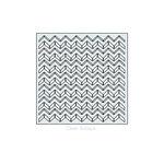 Clear Scraps - Mascils - 6 x 6 Masking Stencil - Chevron