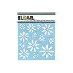 Clear Scraps - Mascils - 6 x 6 Masking Stencil - Daisies