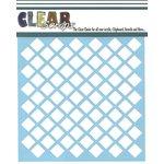 Clear Scraps - Mascils - 12 x 12 Masking Stencil - Diamond