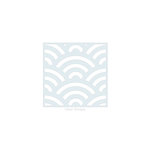 Clear Scraps - Mascils - 6 x 6 Masking Stencil - Fans