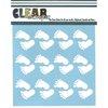 Clear Scraps - Mascils - 12 x 12 Masking Stencil - Feet