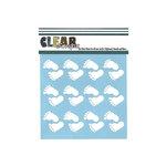 Clear Scraps - Mascils - 6 x 6 Masking Stencil - Feet