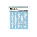 Clear Scraps - Mascils - 6 x 6 Masking Stencil - Fern Leaf