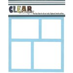 Clear Scraps - Mascils - 12 x 12 Masking Stencil - Frames
