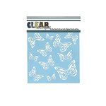 Clear Scraps - Mascils - 6 x 6 Masking Stencil - Monarch Butterfly